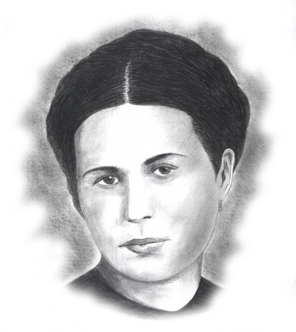Portrait Of Irena Sendler By Archygoncharov On Stars Portraits